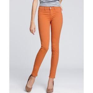 Orange J Brand Skinny Jeans 811 Twill